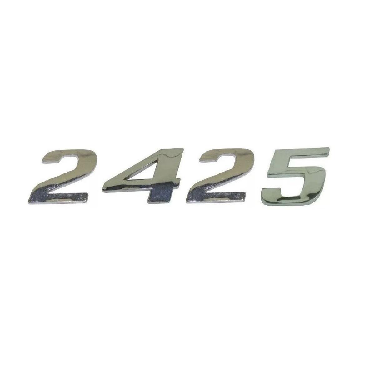 Emblema Mb Atego 2425 Cromado