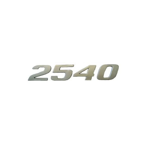 Emblema Mb Axor 2540 Cromado