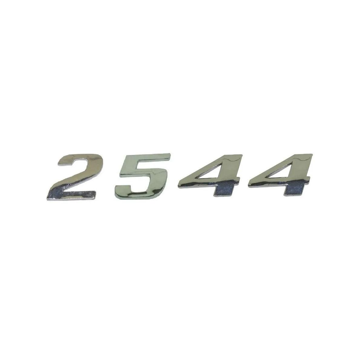 Emblema Mb Axor 2544 Cromado