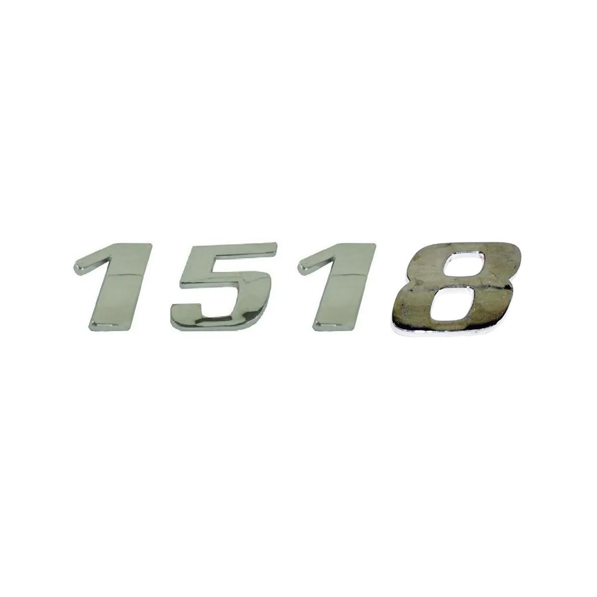 Emblema Mb Atego 1518 Cromado