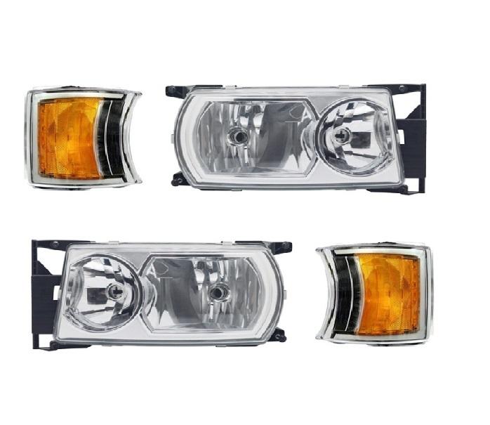 Farol Scania P94 114 124 Série 5 De 2009 Em Diante - Com Lanterna Seta Led (Par)