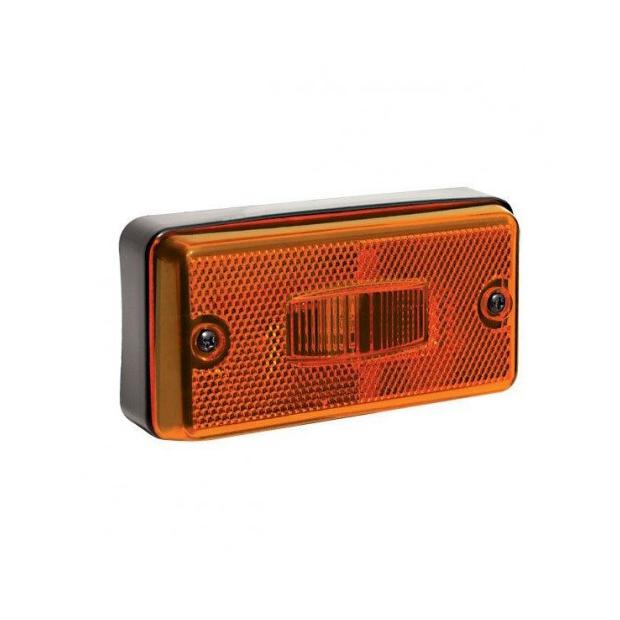 Lanterna Lateral Carreta Modelo Facchini - Amarela